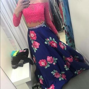 prom dress from The Ultimate two piece